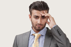 Worried businessman Stock Photos