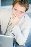 Worried Businessman Stock Images