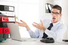 Free Worried Businessman Royalty Free Stock Photography - 45826247