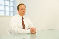 Worried businessman Royalty Free Stock Photography