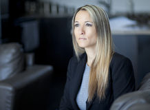 Worried Businesswoman Stock Photo