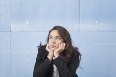 Worried Businesswoman Royalty Free Stock Photos