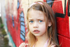 Worried Child Stock Photos