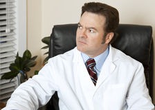 Worried Doctor Stock Photo