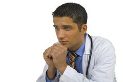 Worried doctor Stock Photos