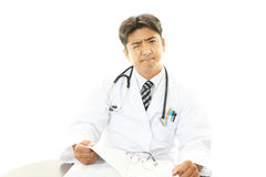 Worried doctor Stock Photography