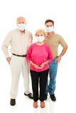 Worried About Flu Royalty Free Stock Image