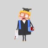 Worried  Graduate boy Royalty Free Stock Photo
