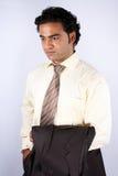 Worried Indian Executive Stock Photo