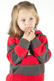 Worried kid Stock Photography