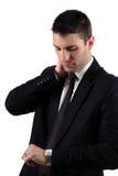 Worried male man Stock Image