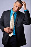 Worried man. This picture represents a worried young businessman Stock Photo