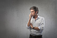 Worried Man Stock Image