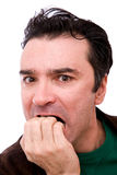 Worried man Royalty Free Stock Images