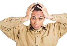 Worried man Stock Photo