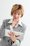 Worried Mature Businesswoman Royalty Free Stock Photo