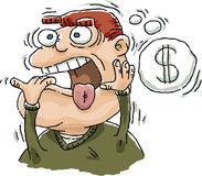 Worried About Money Royalty Free Stock Photos