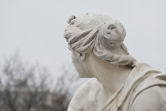 Worried statue Royalty Free Stock Photos