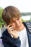 Worried teenager Royalty Free Stock Image