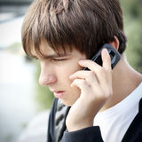 Worried Teenager Stock Images