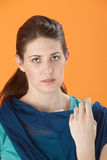 Worried Woman Stock Photography