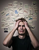 Worried About World Problems Stock Photos