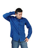 Worried young man. Stock Photography