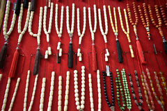 Worry beads display Royalty Free Stock Photo
