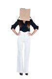 Worry businesswoman Stock Photo