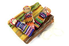 Worry dolls Stock Images