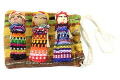 Worry dolls Royalty Free Stock Images