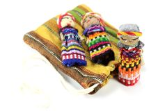 Worry dolls Stock Photos