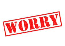 WORRY Royalty Free Stock Photos