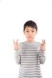WORSE ASL Sign language communication Stock Photos