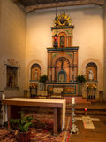 Worship Area at Mission San Diego de Alcalá Royalty Free Stock Images