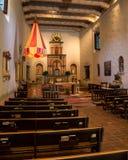 Worship Area at Mission San Diego de Alcalá Royalty Free Stock Photos