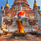 Worship Bhudda Stock Photos