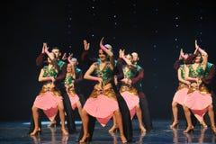 Worship Dance-India memories-the Austria's world Dance Stock Images
