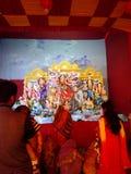 Worship. Hindu Festival  durga puja Stock Photography