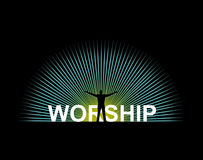 Worship Royalty Free Stock Photography