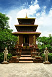 Worship landmark of Ganesh. Shrines of Ganesh hindu god in Chiang Mai, Thailand stock image