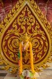 Worship. One expresses the worship of Buddhism Stock Photo