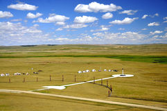 Worship place@Xilin Gol.jpg. A worship place in Xilin-Gol grassland (inner mongolia China Royalty Free Stock Images
