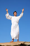 Worship praise happiness Stock Photos