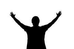 Worship to God. Element of design Royalty Free Stock Images