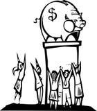 Worshiping Banks Stock Photos