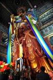 Worshiping Buddha Stock Photography