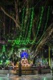 Worshipping buddha Royalty Free Stock Images