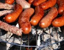 Worst bij de grill Royalty-vrije Stock Fotografie