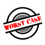 Worst Case rubber stamp Royalty Free Stock Photo